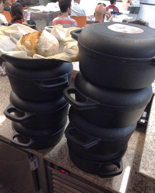 Panela de Ferro para pães artesanais (apenas para BH) 1