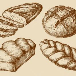 Pão de maçã com canela e nozes