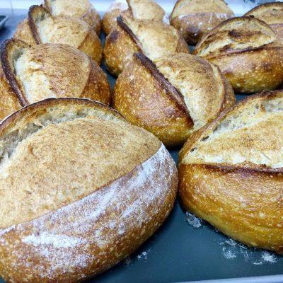 Receita de pão italiano ou pão branco