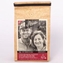 Café Abraço – (produtores Aparecida e Laerte) – 100% arábica – 250 gramas – Grãos