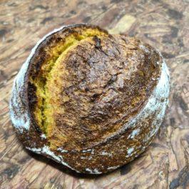 Pão de abóbora com mel e alecrim (450g)