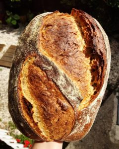 O pão de fermentação natural
