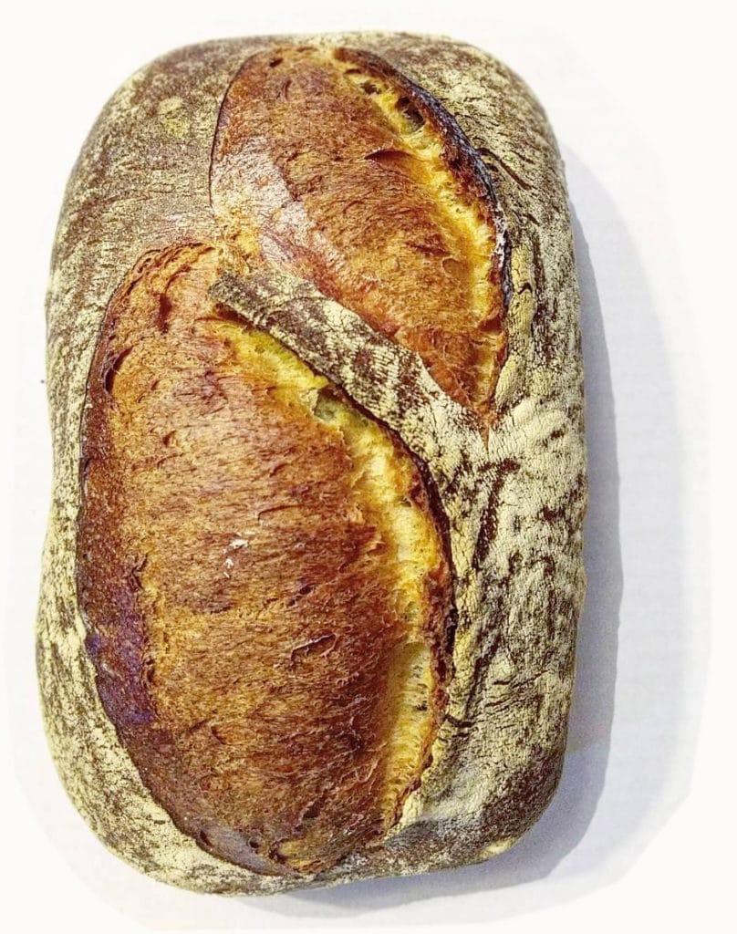 Pão vegano em BH - Fermentação Natural