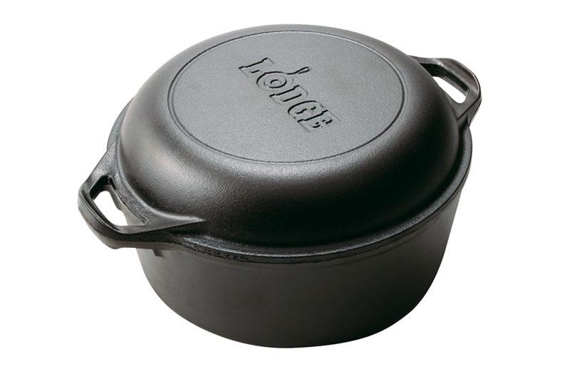 Panela de ferro fundido ou forno holandês