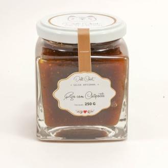 Geléia de Chipotle com figo da Deli Chat - 260 gramas 2