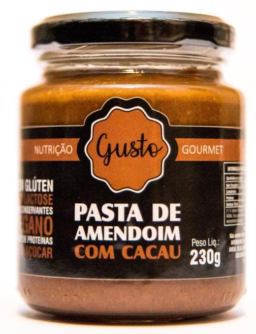 Pasta de amendoim com cacau (zero açúcar) - Gusto - 230g 3