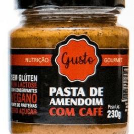 Pasta de amendoim com café (zero açúcar) – Gusto – 230g