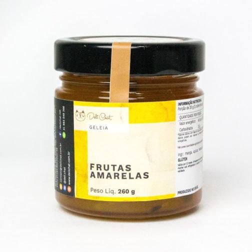 Geléia de Frutas Amarelas com Pão de Fermentação Natural