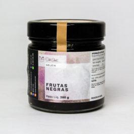 Geléia de Frutas Negras (Jaboticaba + Amora) da Deli Chat – 260 gramas