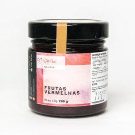 Geléia de Frutas Vermelhas (Morango e Amora) da Deli Chat – 260 gramas