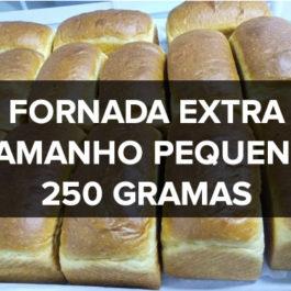Brioche do Tito (Fornada Extra: Tamanho Pequeno 250g). (Brioche de mel, laranja e baunilha)