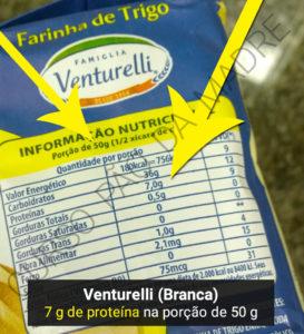 Qual a melhor farinha para fazer pão - Venturelli (Branca)