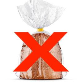 Quero que embale meus pães SEM plástico