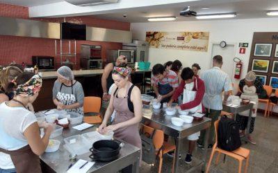 Curso de pão de fermentação natural